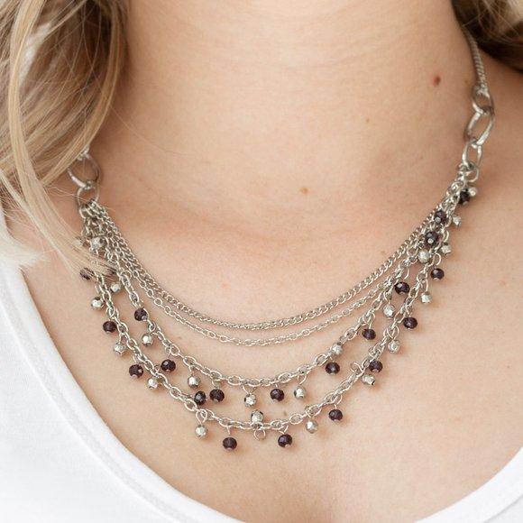 Financially Fabulous Purple Necklace